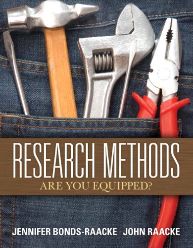 Research Methods: Are You Equipped? 9780135022689