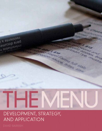 The Menu: Development, Strategy, and Application 9780135078662