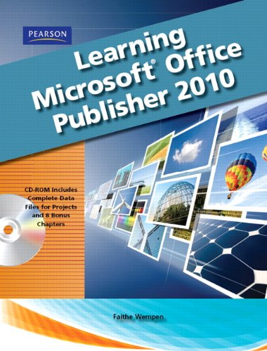 Learning Microsoft Office Publisher 2010 [With CDROM] 9780135108994