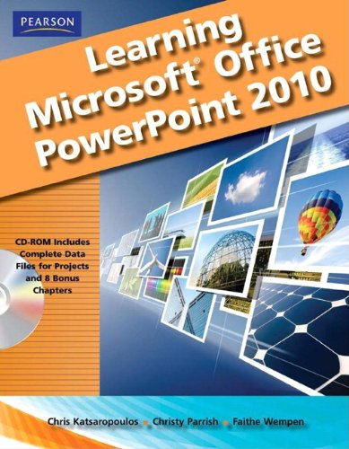 Learning Microsoft Office PowerPoint 2010 [With CDROM] 9780135112090