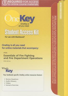 Essentials of Fire Fighting and Fire Department Operations Student Access Kit 9780135138830