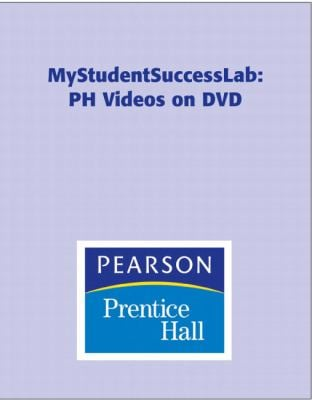 MyStudentSuccessLab PH Videos on DVD 9780135142493