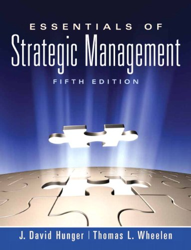 Essentials of Strategic Management 9780136006695