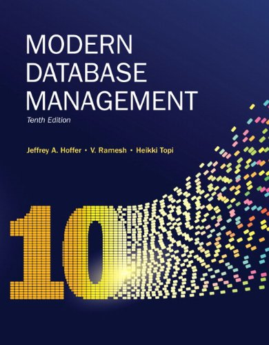 Modern Database Management 9780136088394