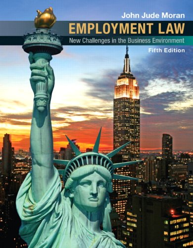 Employment Law: New Challenges in the Business Environment 9780136088790