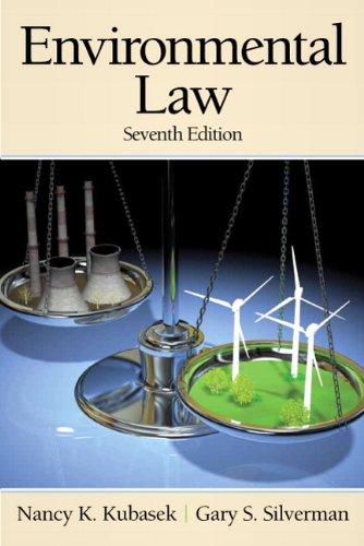 Environmental Law 9780136088837