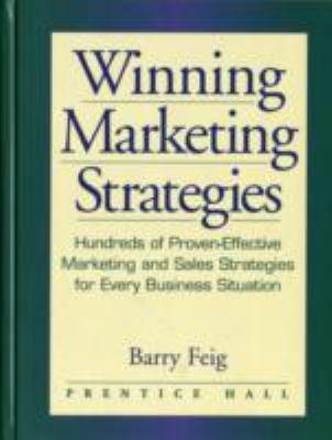 Winning Marketing Strategies 9780136449072
