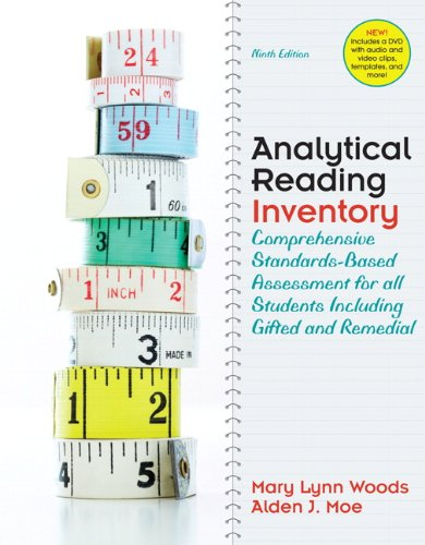 Analytical Reading Inventory: Comprehensive Standards-Based Assessment for All Students Including Gifted and Remedial [With CDROM] 9780137012923