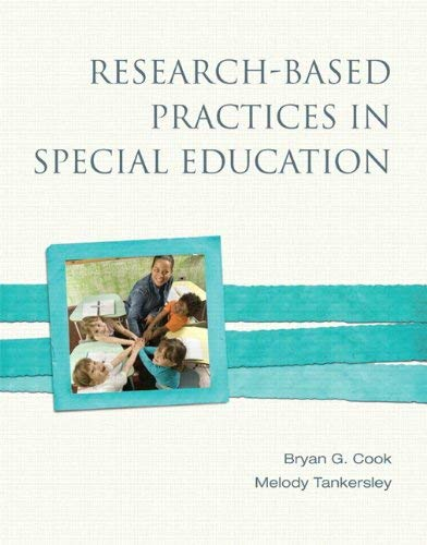 Research-Based Practices in Special Education 9780137028764