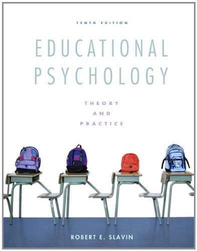 Educational Psychology: Theory and Practice 9780137034352