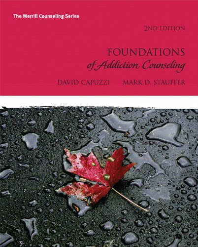 Foundations of Addictions Counseling 9780137057788