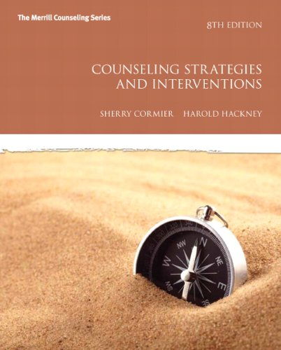Counseling Strategies and Interventions 9780137070183