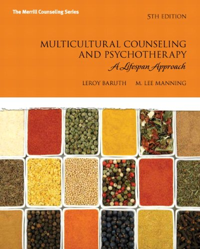 Multicultural Counseling and Psychotherapy: A Lifespan Approach 9780137071500