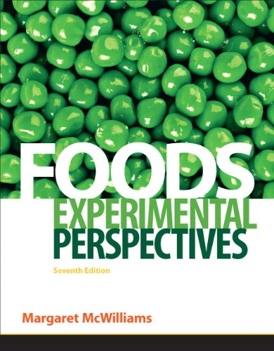 Foods: Experimental Perspectives 9780137079292