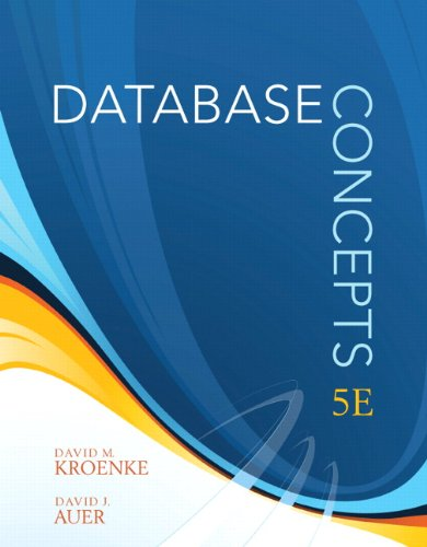Database Concepts 9780138018801