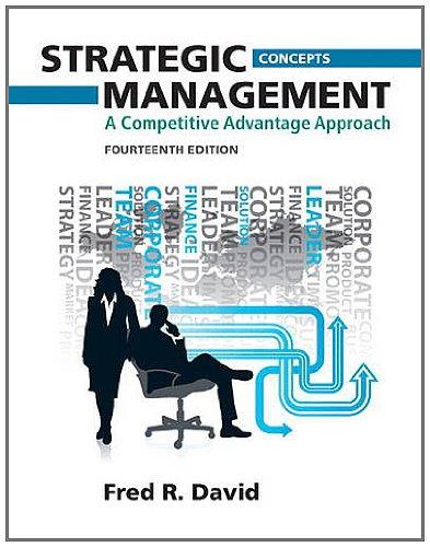 Strategic Management, Concepts: A Competitive Advantage Approach