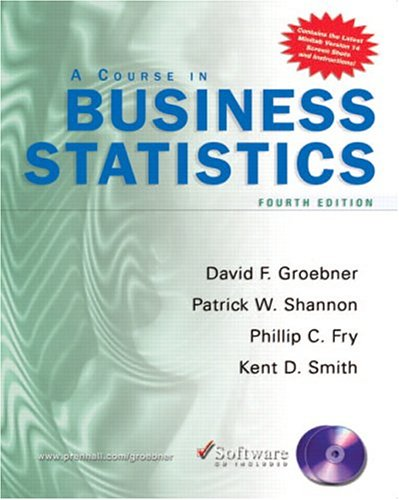 A Course in Business Statistics [With CDROM]