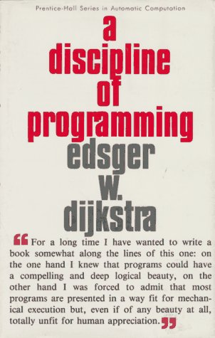 A Discipline of Programming 9780132158718