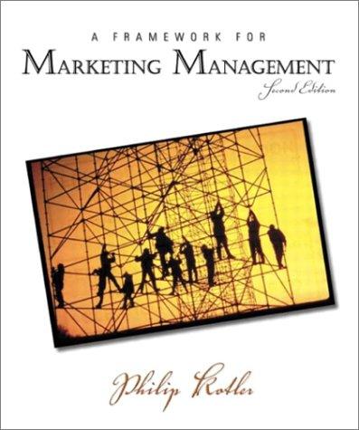 A Framework for Marketing Management 9780131001176