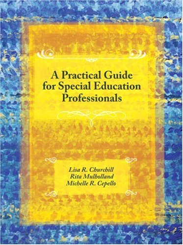 A Practical Guide for Special Education Professionals 9780131720213