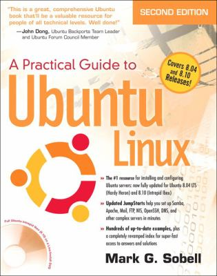 A Practical Guide to Ubuntu Linux [With DVD ROM] 9780137003884