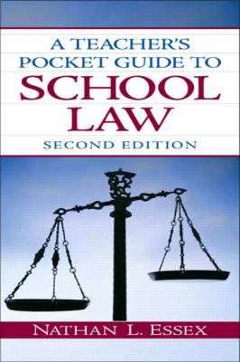 A Teacher's Pocket Guide to School Law 9780135094181