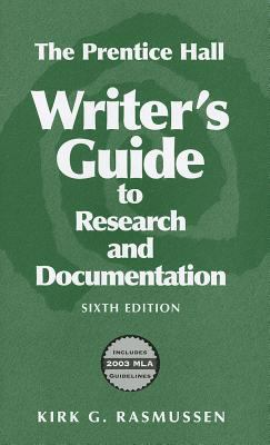 A Writer's Guide to Research and Documentation 9780131779976