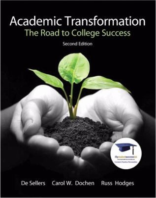 Academic Transformation: The Road to College Success 9780137007561
