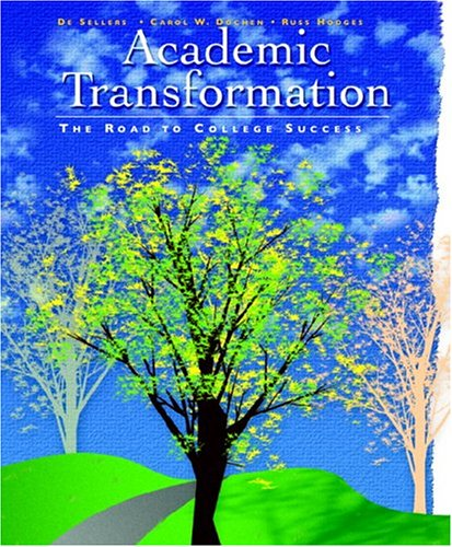 Academic Transformation: The Road to College Success 9780130486158