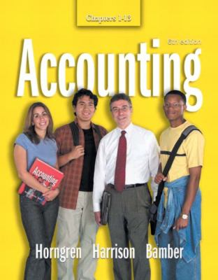 Accounting Chapters 1-13 [With CDROM] 9780131456204