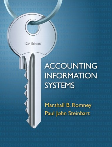 Accounting Information Systems - 12th Edition