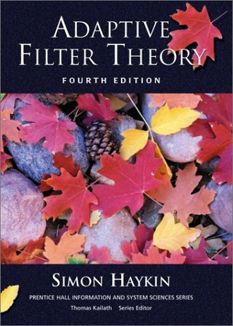 Adaptive Filter Theory 9780130901262
