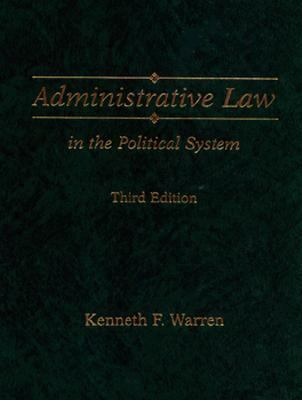 Administrative Law in the Political System 9780133020434