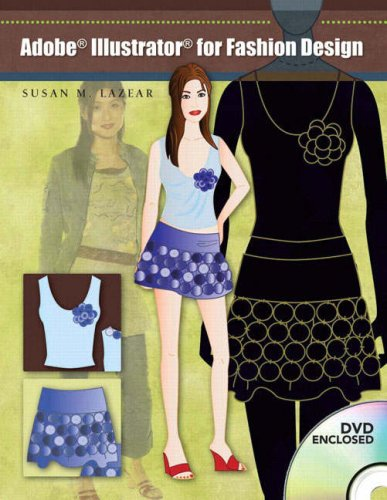 Adobe Illustrator for Fashion Design [With Dvdrom] 9780131192744