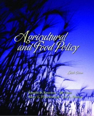 Agricultural and Food Policy - 6th Edition
