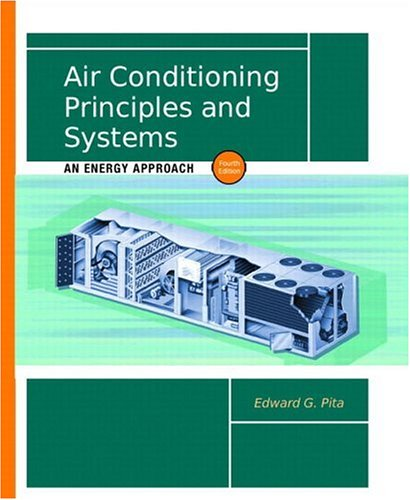 Air Conditioning Principles and Systems: An Energy Approach 9780130928726
