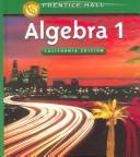 Algebra 1 (California Edition)