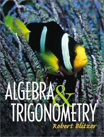 Algebra & Trigonometry 9780130893321