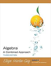 Algebra a Combined Approach [With CDROM]