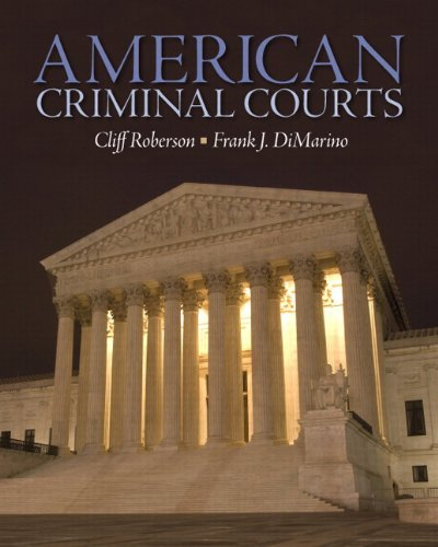 American Criminal Courts 9780135111116