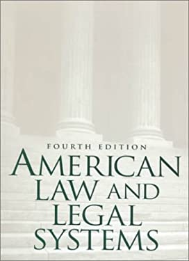 American Law and Legal Systems 9780130833365