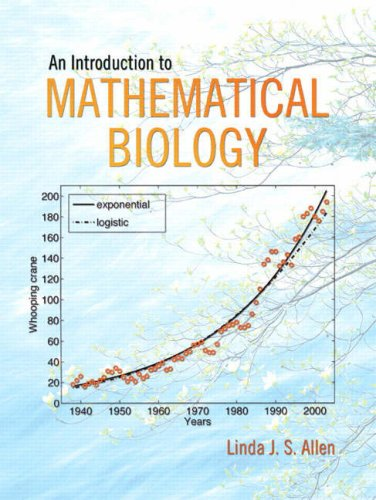 An Introduction to Mathematical Biology 9780130352163