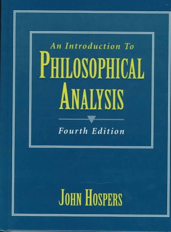 An Introduction to Philosophical Analysis 9780132663052
