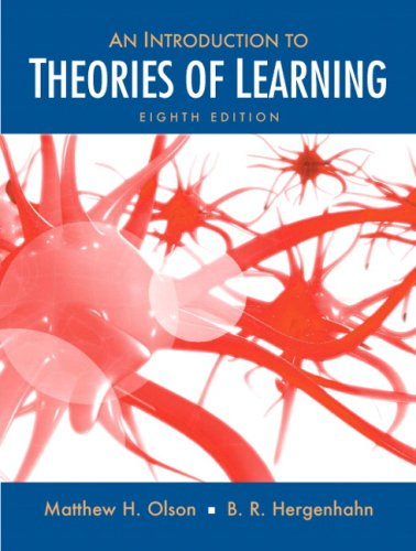 An Introduction to Theories of Learning 9780136057727