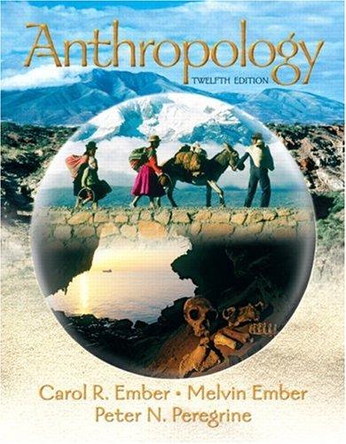 Anthropology 9780132277532