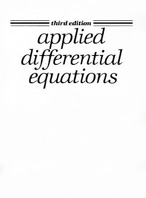 Applied Differential Equations 9780130400970