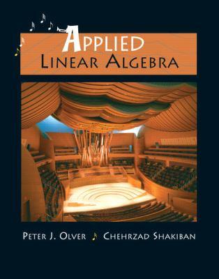 Applied Linear Algebra 9780131473829