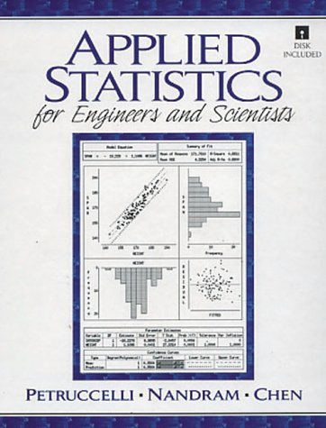 Applied Statistics for Engineers and Scientists 9780135659533