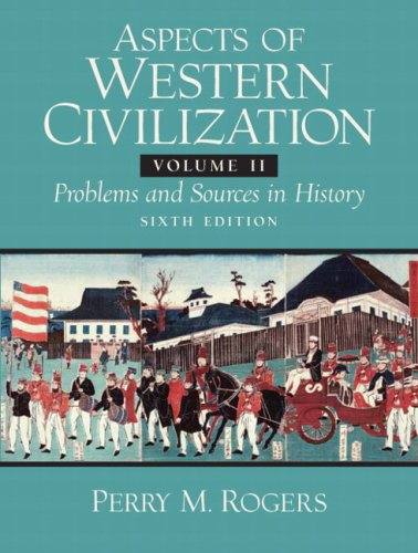 Aspects of Western Civilizations 9780132050494