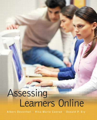Assessing Learners Online 9780130911223